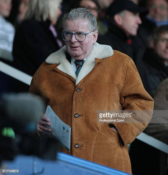 BBC television commentator John Motson attending the FA Cup sponsored by Eon 3rd round between Bristol City and Portsmouth at Fratton Park on January...