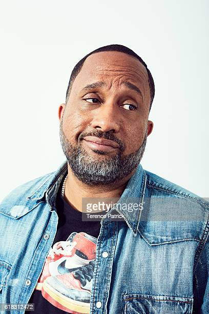 Television creator and writer Kenya Barris is photographed for Variety on April 17 2016 in Los Angeles California