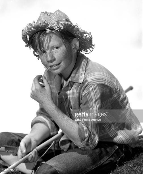 CBS television dramatic anthology program Studio One episode The Adventures of Huckleberry Finn stars Jimmy Boyd as Huck Noted not known to have...