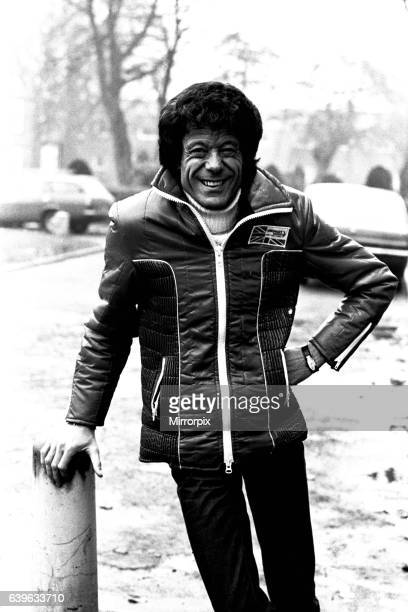 Television entertainer Lionel Blair on tour on 21st February 1980