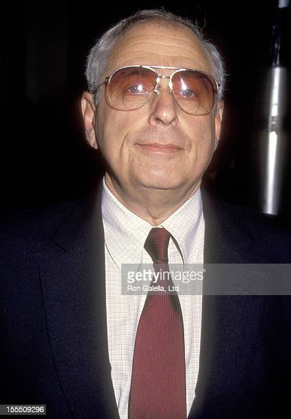 Television executive and producer Fred Silverman attends the 28th Annual Publicists Guild of America Awards on March 22 1991 at Beverly Hilton Hotel...