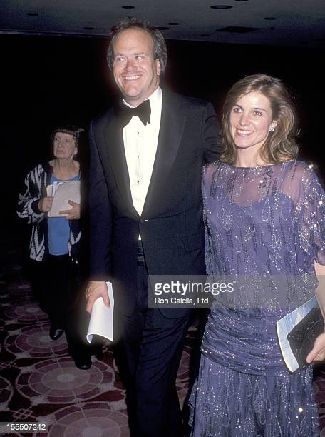 Television executive Dick Ebersol and actress Susan Saint James attends the Ninth Annual Women's Sports Foundation Awards on October 17 1988 at the...
