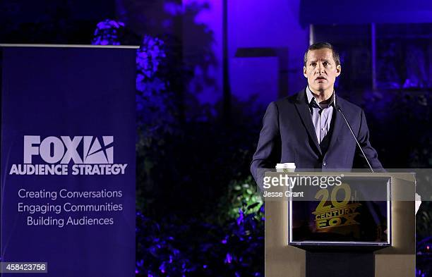 Television Group COO Joe Earley attends the FOX Global Directors Initiative Top 20 Celebration at the Fox Studio Lot on November 4 2014 in Century...
