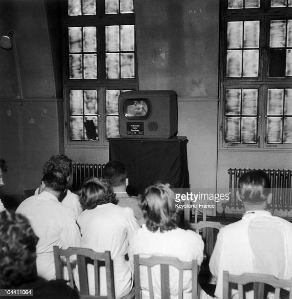 Television had not entered French households but medical students were already attending an appendicitis operation commented aloud on TV in the...