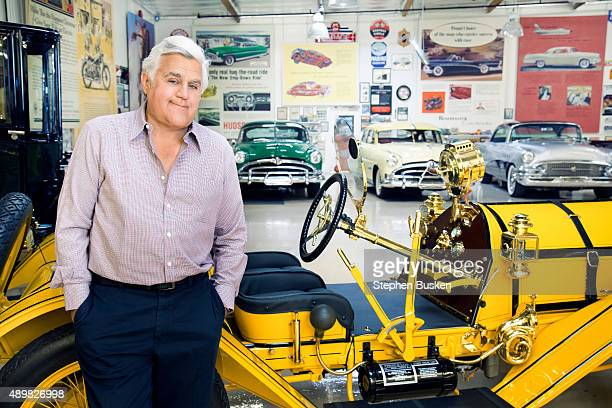 Television host and comedian Jay Leno is photographed for Haute Living Magazine on June 3 2015 in Van Nuys California
