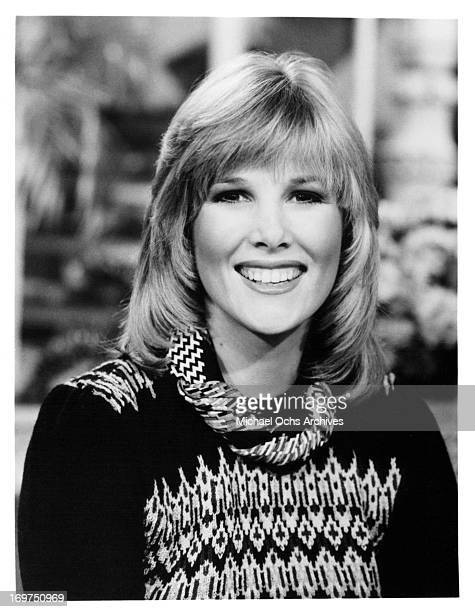 Television host and journalist Joan Lunden poses for a portrait in circa 1982