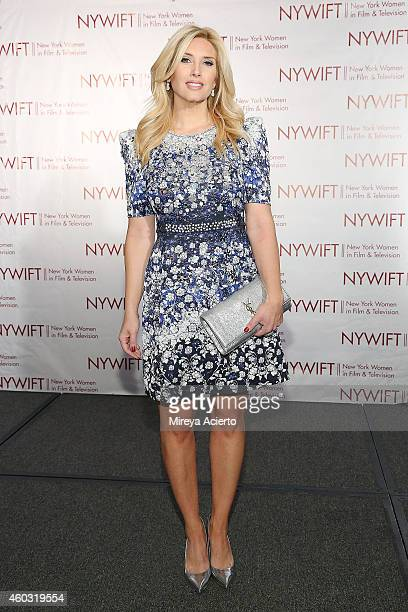 Television host Bianca de la Garza attends 34th Annual New York Women In Film And Television Muse Awards at New York Hilton Midtown on December 11...