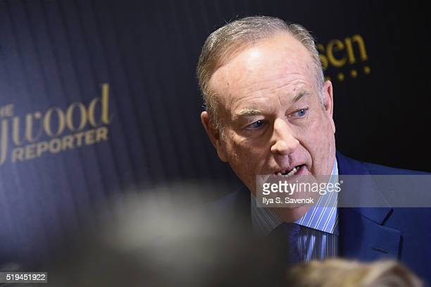 Television host Bill O'Reilly attends the Hollywood Reporter's 2016 35 Most Powerful People in Media at Four Seasons Restaurant on April 6 2016 in...