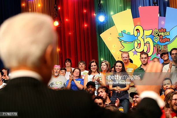 Television host Bob Barker speaks during the taping of the 35th Season premiere of 'The Price Is Right' at CBS Television studios on August 31 2006...