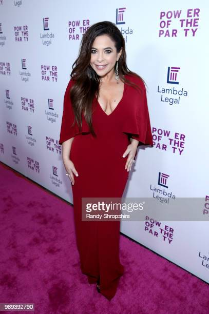 Television host Brooke Lewis attends the Lambda Legal 2018 West Coast Liberty Awards at the SLS Hotel on June 7 2018 in Beverly Hills California