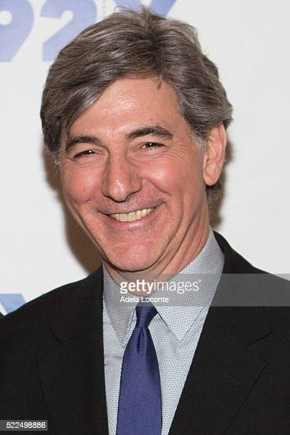 Television Host Budd Mishkin attends 92Y Talks at Kaufman Concert Hall on April 19, 2016 in New York City.