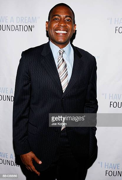Television host Carlos Watson attends the 2009 I Have a Dream Foundation spring gala at 583 Park Avenue June 11, 2009 in New York City.