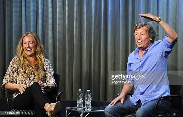 Television host Cat Deeley and producer Nigel Lithgoe attend the Screen Actors Guild Foundation, SAG-AFTRA and Career Transitions for Dancers...