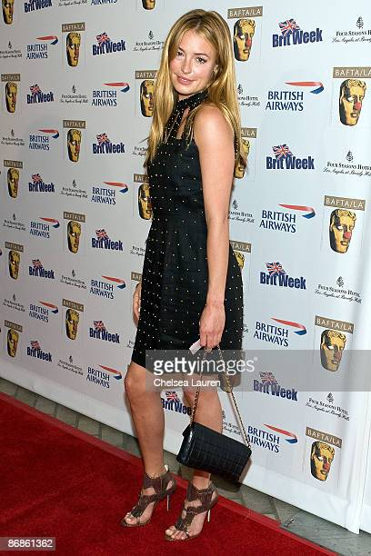 Television host Cat Deeley arrives at the 2nd Annual British Comedy Festival at the Four Seasons Hotel on May 8 2009 in Beverly Hills California