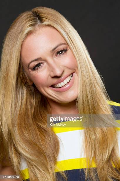 Television host Cat Deeley is photographed for Los Angeles Times on June 19 2013 in Los Angeles California PUBLISHED IMAGE CREDIT MUST BE Kirk...