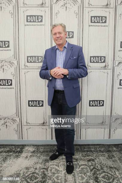 Television host Chris Hansen visits Build to discuss 'Crime Watch Daily' at Build Studio on May 9 2017 in New York City