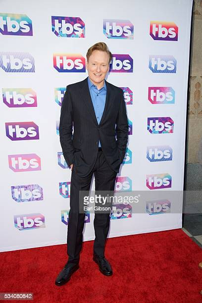 Television Host Conan O'Brien attends TBS's A Night Out With For Your Consideration Event at The Theatre at Ace Hotel on May 24, 2016 in Los Angeles,...