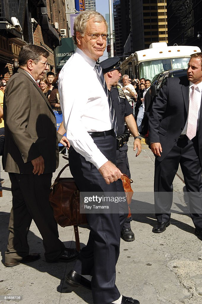 "Jason Bateman Visits ""Late Show With Dave Letterman"""