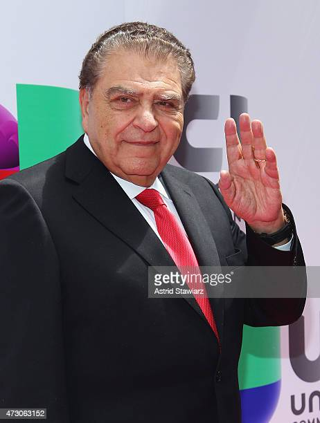 Television Host Don Francisco attends Univision's 2015 Upfront at Gotham Hall on May 12 2015 in New York City