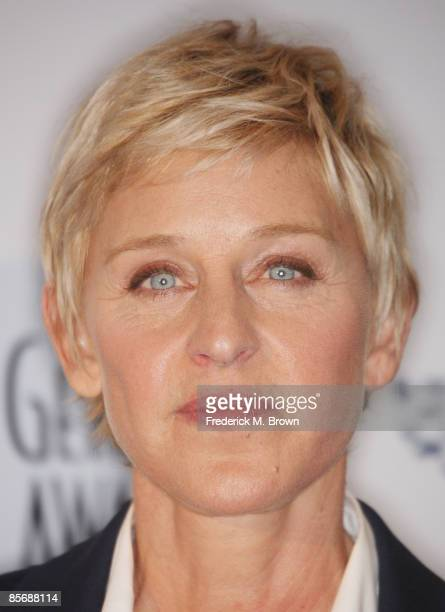 Television host Ellen Degeneres attends the 23rd annual Genesis Awards at the Beverly Hilton Hotel on March 28 2009 in Beverly Hills California