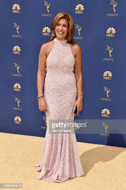 Television host Hoda Kotb attends the 70th Emmy Awards at Microsoft Theater on September 17 2018 in Los Angeles California