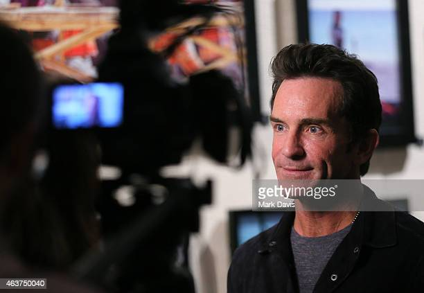 Television host Jeff Probst attends the 'Survivor 15 Years 30 Seasons' celebration held at The Paley Center for Media on February 17 2015 in Beverly...