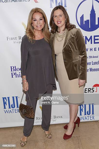 Television host Kathie Lee Gifford and executive director CitymealsOnWheels Beth Shapiro attend the CitymealsOnWheels Power Lunch for Women held at...