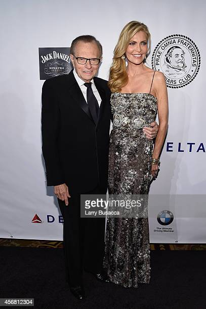 Television host Larry King and Shawn King attend the Friars Foundation Gala honoring Robert De Niro and Carlos Slim at The Waldorf=Astoria on October...