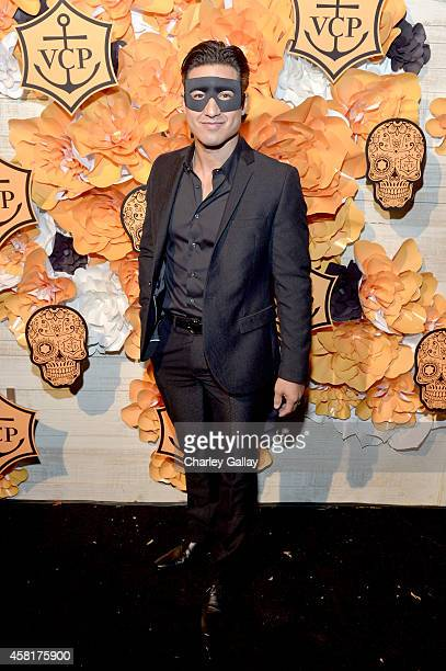 Television host Mario López at The UNICEF Dia de los Muertos Black White Masquerade Ball at Hollywood Forever Cemetery benefitting UNICEF's education...