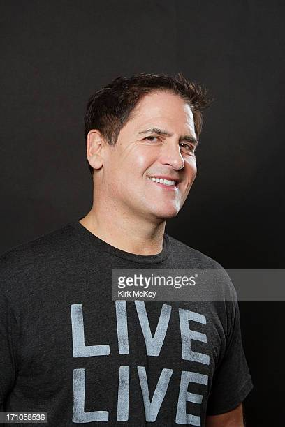 Television host Mark Cuban is photographed for Los Angeles Times on April 30 2013 in Los Angeles California PUBLISHED IMAGE CREDIT MUST BE Kirk...