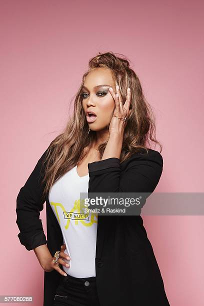 Television host model and producer Tyra Banks is photographed at the 2016 BeautyCon Conference on July 9 2016 in Los Angeles California