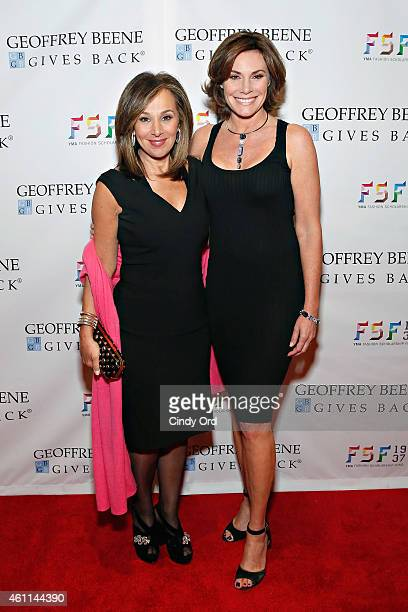 Television host Rosanna Scotto and TV personality LuAnn de Lesseps attend the YMA Fashion Scholarship Fund Geoffrey Beene National Scholarship Awards...