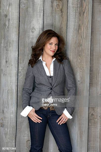 Television host Sophie Grégoire-Trudeau and wife of Canadian Prime Minister Justin Trudeau is photographed for Chatelaine Magazine on October 1, 2006...