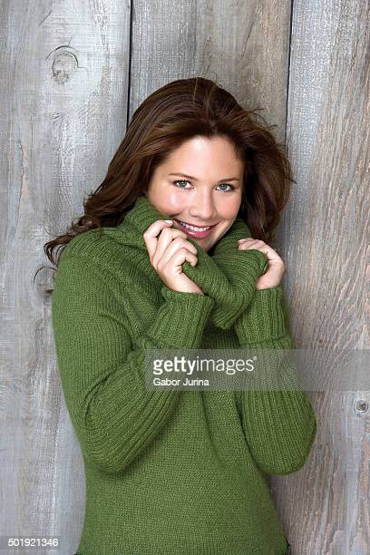 Television host Sophie GrégoireTrudeau and wife of Canadian Prime Minister Justin Trudeau is photographed for Chatelaine Magazine on October 1 2006...