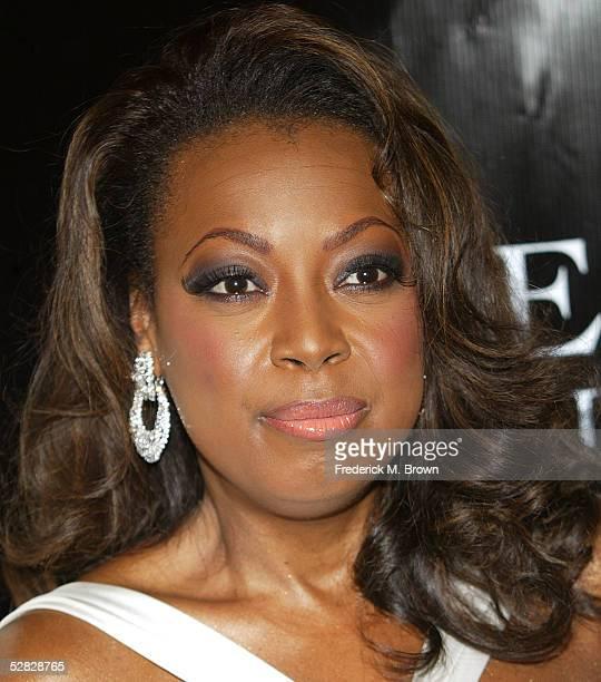 Television host Star Jones attends Oprah Winfrey's Legends Ball at the Bacara Resort and Spa on May 14 2005 in Santa Barbara California