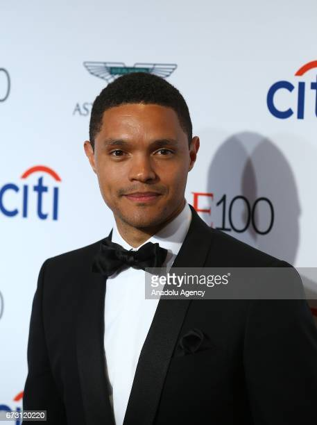 Television host Trevor Noah attends the 2017 TIME 100 Gala at Jazz at Lincoln Center in New York United States on April 25 2017