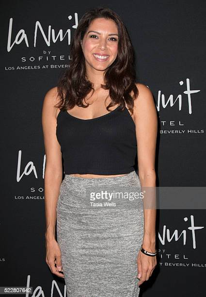 Television host Viviana Vigil attends the La Nuit launch party at the Sofitel Los Angeles at Sofitel Los Angeles At Beverly Hills on April 20, 2016...