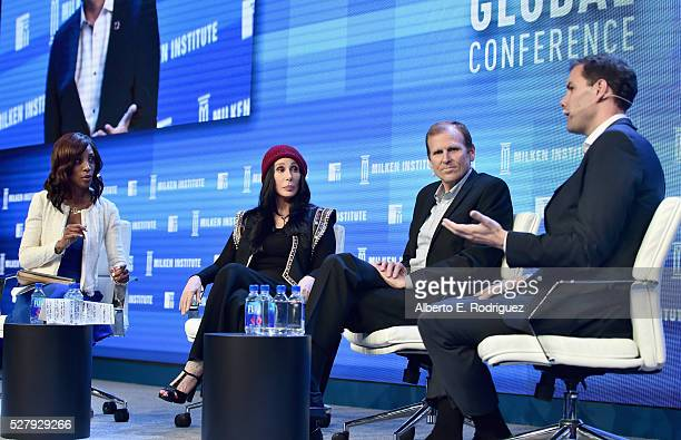 Television Host/Author/Producer/Philanthropist Shaun Robinson singer Cher CEO and CoFounder Waterorg Gary White and John McArthur Senior Fellow of...