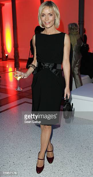 Television hostess Christiane Gerboth attends the Publishers' Night 2006 November 2 2006 in Berlin Germany