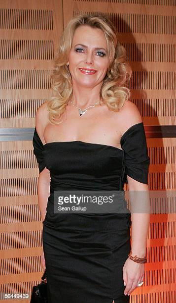Television hostess Eva Herman attends the afterparty at the Herz fuer Kinder television charity gala December 17 2005 at the Axel Springer Halle in...