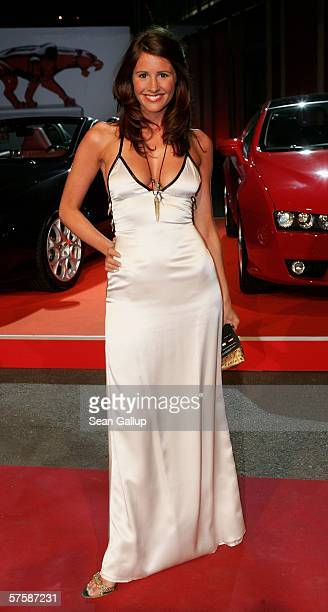 Television hostess Mareile Hoeppner arrives at the New Faces Award on May 11 2006 at the Berlin Congress Center in Berlin Germany