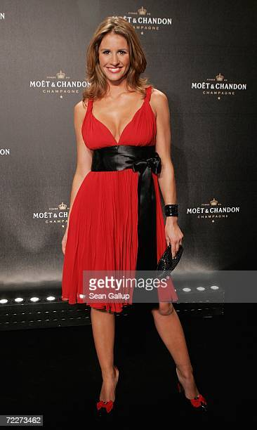 Television hostess Mareile Hoeppner attend the Moet Chandon Fashion Debut at the Admiralspalast October 26 2006 in Berlin Germany