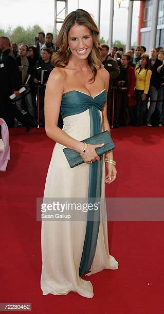 Television hostess Mareile Hoeppner attends the German Television Awards at the Coloneum October 20 2006 in Cologne Germany