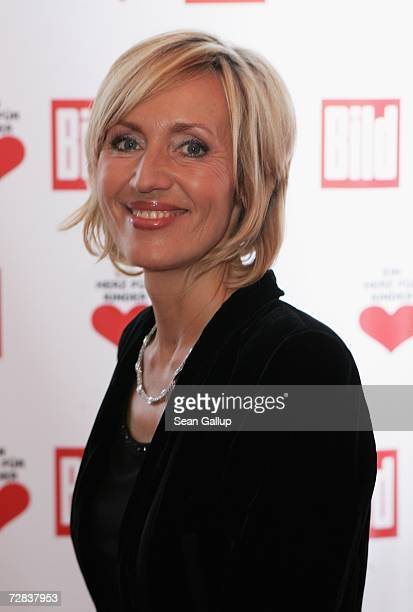Television hostess Petra Gerster attends the Herz fuer Kinder charity gala at Axel Springer Haus December 16, 2006 in Berlin, Germany.