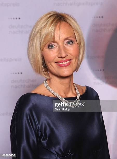 Television hostess Petra Gerster attends the Sustainability Award 2009 at the German Historical Museum on April 29, 2009 in Berlin, Germany.