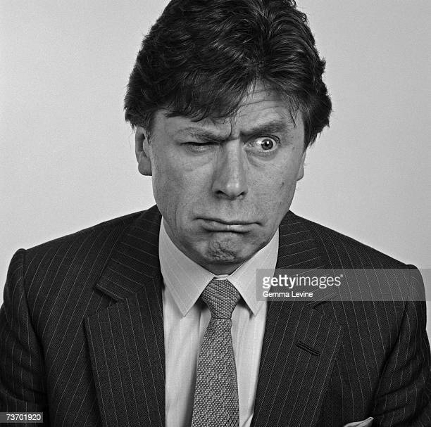 Television impressionist and comedian Mike Yarwood mid 1980s