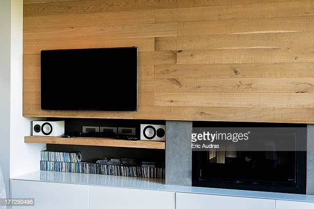 Television in a living room