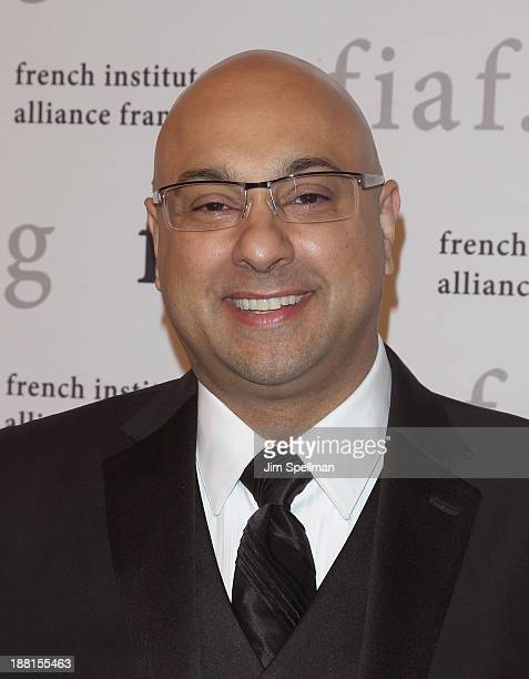 Television Journalist Ali Velshi attends the 2013 Trophee Des Arts gala on November 15 2013 in New York City