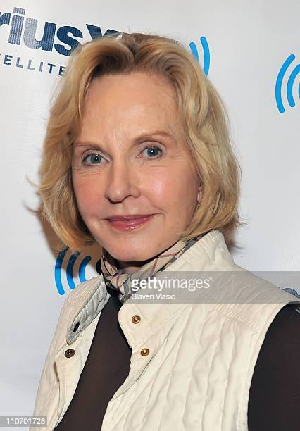Television journalist and radio host Pia Lindstrom attends SiriusXM Studio on March 23, 2011 in New York City.