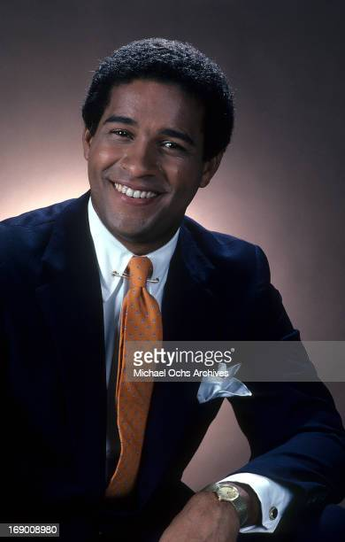 Television journalist Bryant Gumbel poses for a portrait in circa 1982